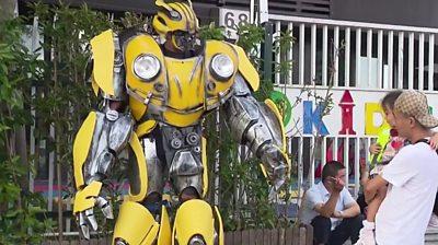 Transformer dad