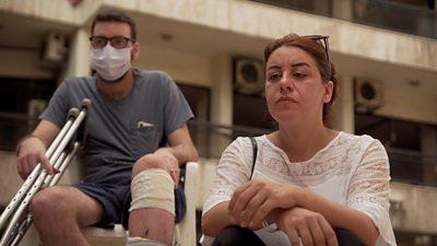 Beirut blast: 'I love you, don't leave me' thumbnail