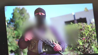 Islamic State group's propaganda video