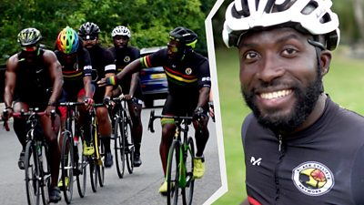 Mani Arthur was stopped and searched by the police last year during a ride to promote diversity.