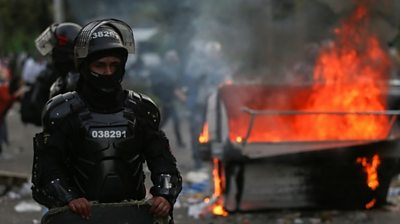 Colombia riots
