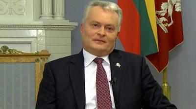 Lithuanian President Gitanas Nauseda