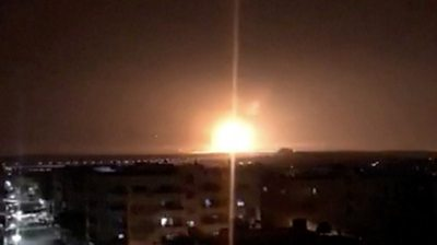 Huge blast rocks Jordan military base in Zarqa