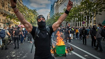 Paris protests