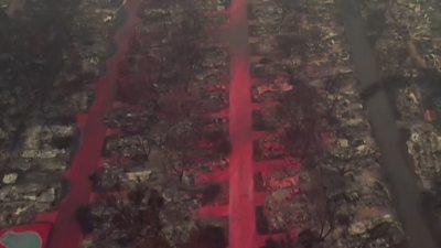 Flame retardant in Oregon town