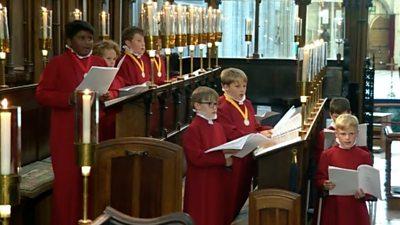 Winchester choir