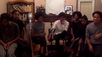 The Kanneh-Masons at home