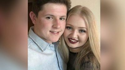 Liam Curry and Chloe Rutherford