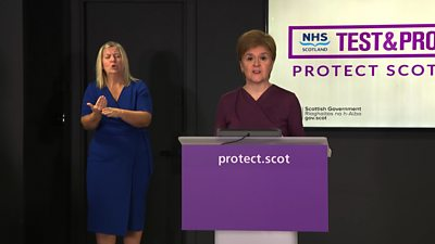 "Nicola Sturgeon has said additional lockdown restrictions will ""almost certainly"" be put in place."
