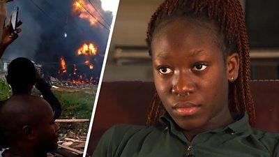 Lagos fire at girls' school