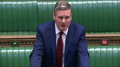 Coronavirus: Keir Starmer says country needs 'clear leadership'