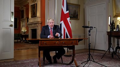 Coronavirus: UK PM Boris Johnson's address in full