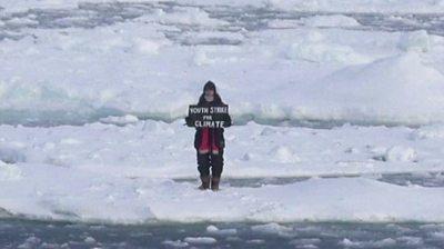 Arctic protest