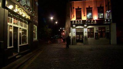 Deserted Hull streets