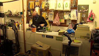 Steve the hoover shop owner