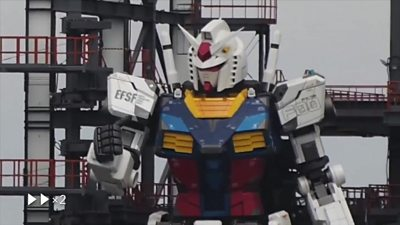The Gundam Robot