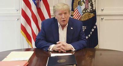 Donald Trump tells America: 'I'm starting to feel good'
