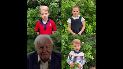Sir David Attenborough answers royal children's questions
