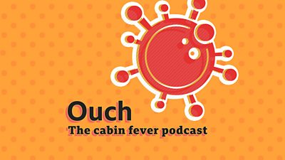 BBC Ouch Cabin Fever Logo
