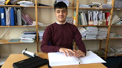 Mustafa, a sixth former at New College Worcester