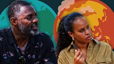 Idris Elba and Sabrina Dhowre Elba
