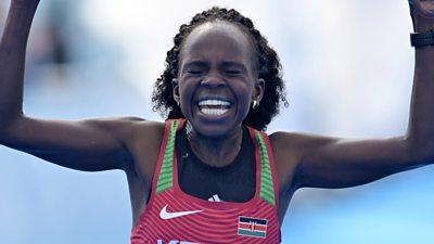 Kenya's Peres Jepchirchir