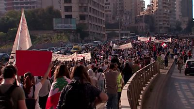 'A year of rising and fading hopes' in Beirut