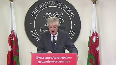 Mark Drakeford, Welsh First Minister
