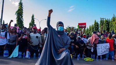 Aisha Yesufu: 'End Sars is a fight for the next generation of Nigerians'