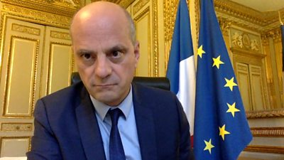 France's Education Minister Jean-Michel Blanquer