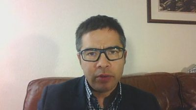 Emergency medicine consultant Dr David Chung