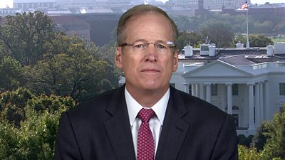 Jack Kingston, former Republican congressman and US President Donald Trump campaigner