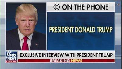 President Trump on Fox News
