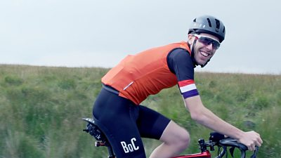BBC Sport Wales meets British Hill Climb champion Ed Laverack