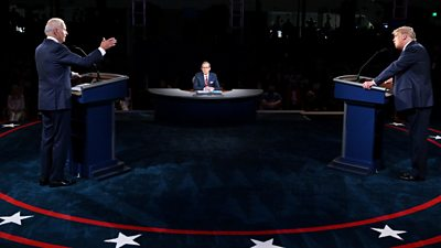 Why AI live fact-checked the 2020 US presidential debates - bbc