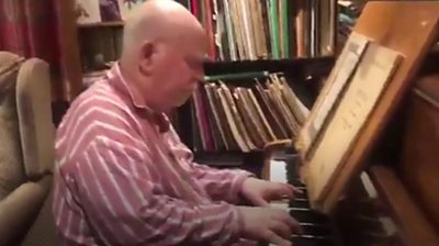 Composer with dementia hears piece for first time