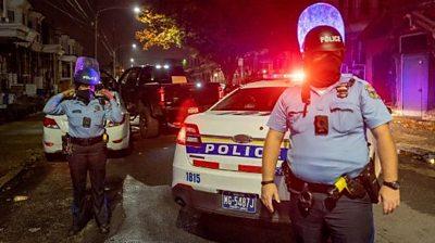 Police officers in Philadelphia