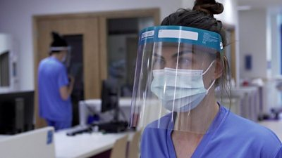 Altnagelvin nurse Laura Hegarty