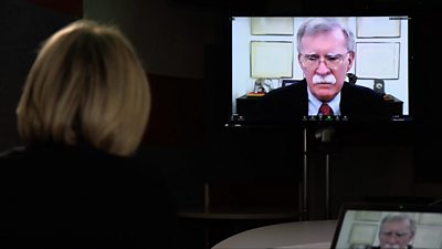 John Bolton on Newsnight