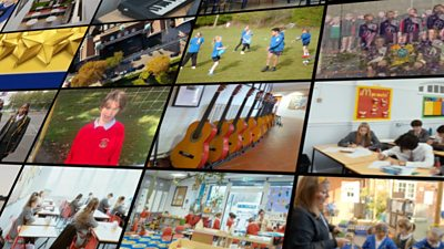 School promotional video montage