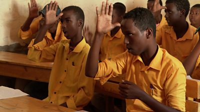 Deaf school in Mogadishu