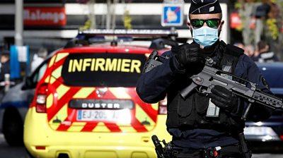Policeman in Nice