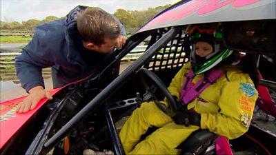 Teenage racing driver