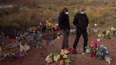 Clive Myrie has visited the Navajo Nation in Arizona where the death rate is the highest in the US.