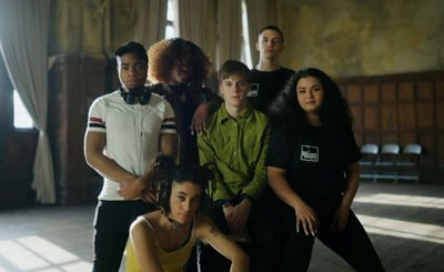 A group of young Londoners have featured in a 'beatbox' version of Mary Shelley's Frankenstein.