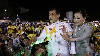 Thai King Maha Vajiralongkorn Bodindradebayavarangkun and Thai Queen Suthida