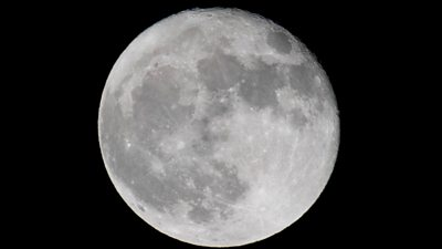 A file photo of the Moon on 2 October, 2020
