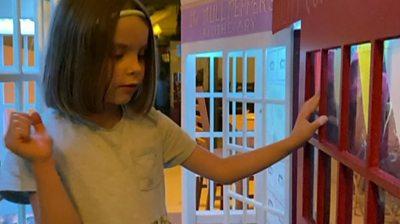 Ella in her Diagon Alley