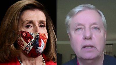 Nancy Pelosi and Lindsey Graham
