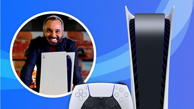 Marc Cieslak with PS5 console